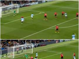 Gundogan sealed the points for City in the Manchester derby. CAPTURA
