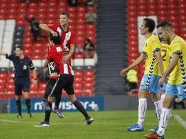 Guruzeta ya ha disputado varios partidos con el filial del Athletic. Twitter