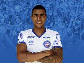 Gustavo, novo jogador do Bahia. Bahia