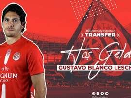 Leschuck ya pertenece al Anyalyaspor. Twitter/Antalyaspor
