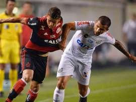 O Santos venceu por 1-2 na visita ao Flamengo. Goal