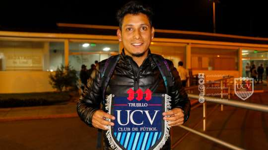 Rodas ya está en Perú. UCVClubDeportivo