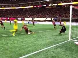 Le gardien d'Atlanta a sauvé son équipe de la défaite. Twitter/MLS
