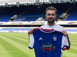 Gwion Edwards is the club's third signing of the window. Twitter/Official_ITFC
