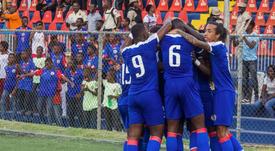 Haití y Costa Rica empataron 1-1 en la CONCACAF Nations League. Twitter/CNationsLeague