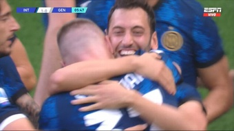 Il primo gol della Serie A 2021-22 è di Skriniar. ESPN