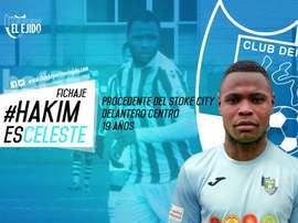 Hakim Abdallah se ha formado en las categorías inferiores del Stoke City. Twitter/ElEjido