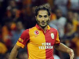 Altintop, durante su etapa en el 'Galata'. Galatasaray