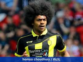 Hamza Choudhury firmó su renovación antes de abandonar el club. Leicester