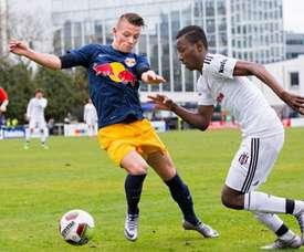 Hannes Wolf recuerda mucho a Marco Reus en su juego de ataque. RedBullSalzburg