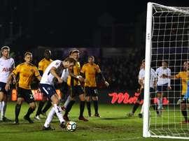 El Tottenham respira gracias al de siempre. Tottenham