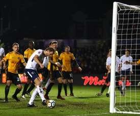 El Newport intentará sorprender al Tottenham... pero sin Rigg. Tottenham