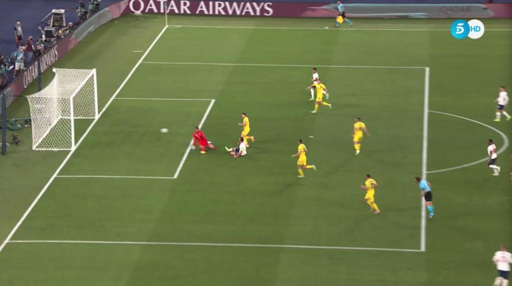 Gol de Harry Kane a Ucrania