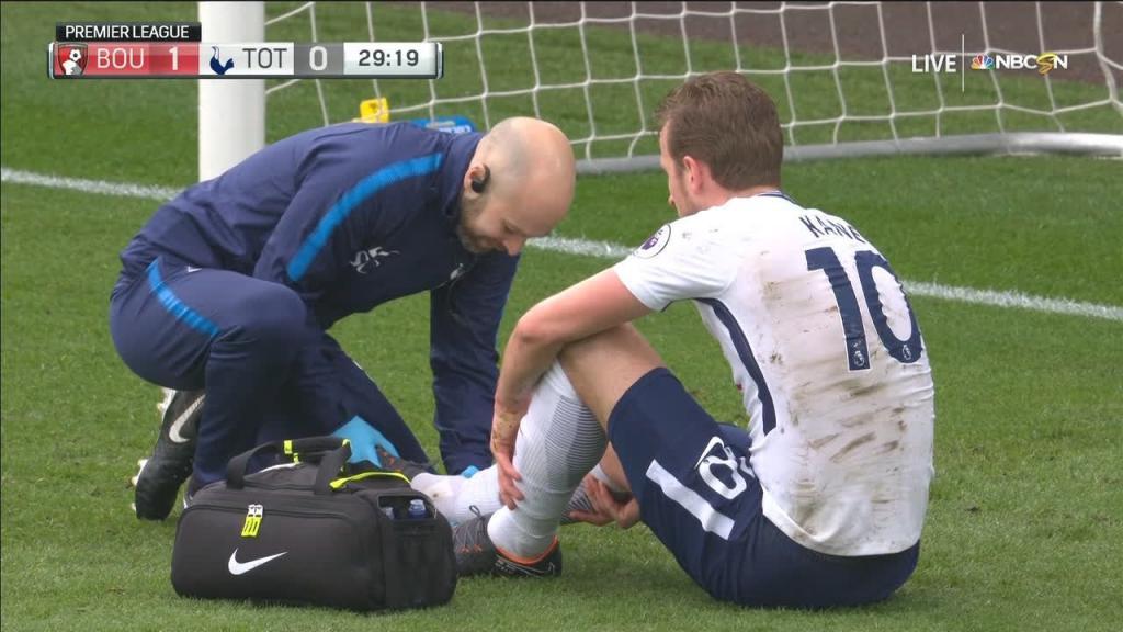 Tottenham preocupado por la lesión de Harry Kane