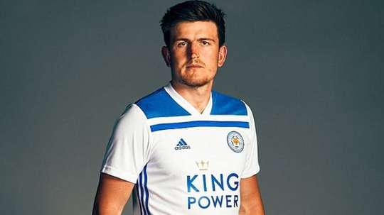 Maguire has made 48 appearances for Leicester City. Twitter/leicestercity