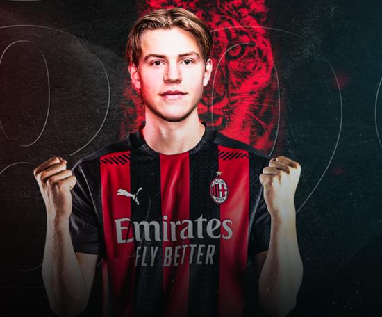 Officiel : L'AC Milan s'offre une pépite norvégienne. Twitter/ACMilan