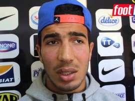 Haythem aseguró que conocía desde hace tiempo al Tenerife. Youtube