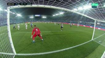 Il primo gol stagionale del Real. MovistarLaLiga