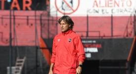 Bidoglio acabará la temporada con Newell's. Twitter/CANOBoficial