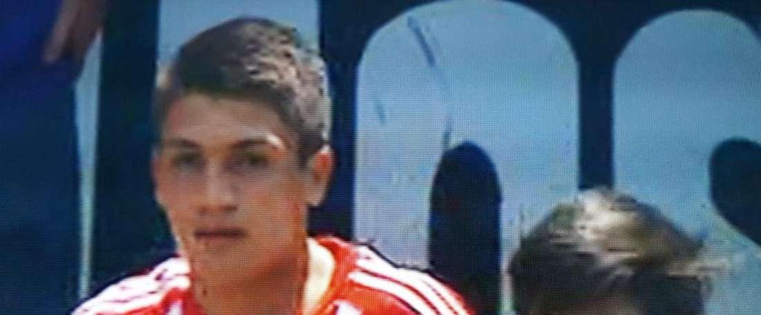 Hector González, cerca de firmar con la cantera del Levante. Twitter/estoenlínea