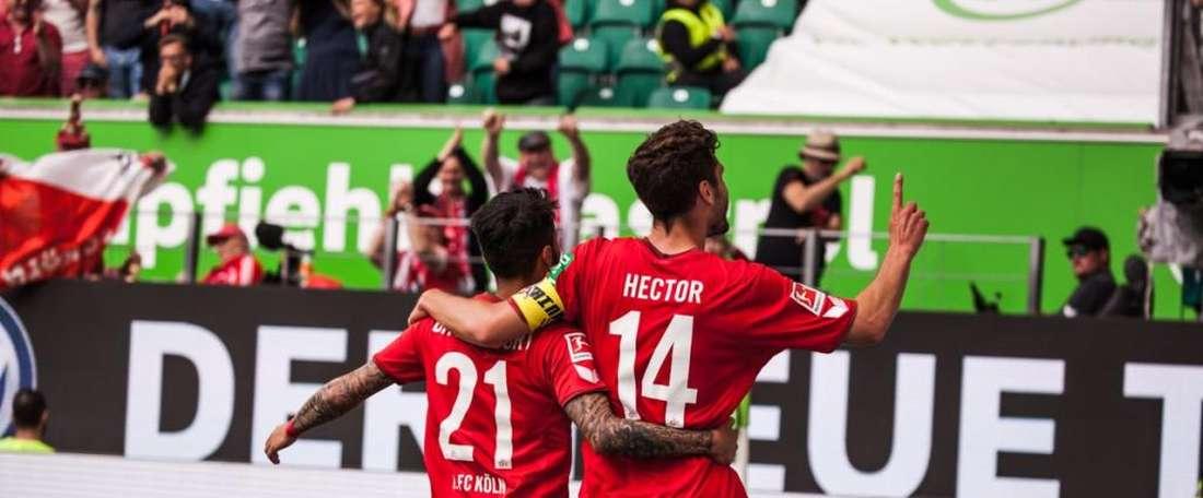 El Köln venía de caer 5-1 en Dortmund.Twitter/fckoeln_en