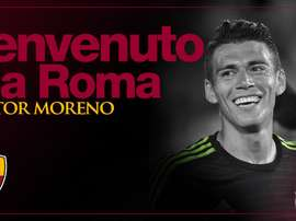 Hector Moreno: new signed player at Roma. ASRoma