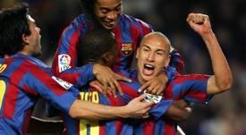 Un ancien mancunien révèle que Ronaldinho aurait pu rejoindre United. EFE