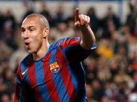 Larsson, en su etapa en el Barcelona, ha sido despedido del Helsingborgs. EFE