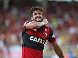 Dourado marcó el gol de la victoria. Flamengo