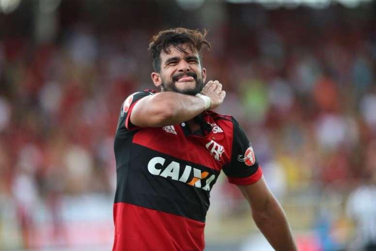 Dourado deja Flamengo dos temporadas después. Twitter/Flamengo