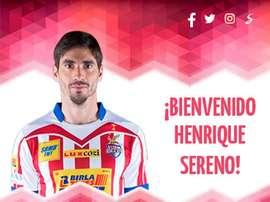 Henrique Sereno es la nueva incorporación del Almería. UDAlmería