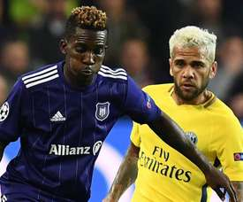 El Anderlecht respira. AFP