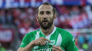 Hernán Barcos deixa o Nacional. AtleticoNacional