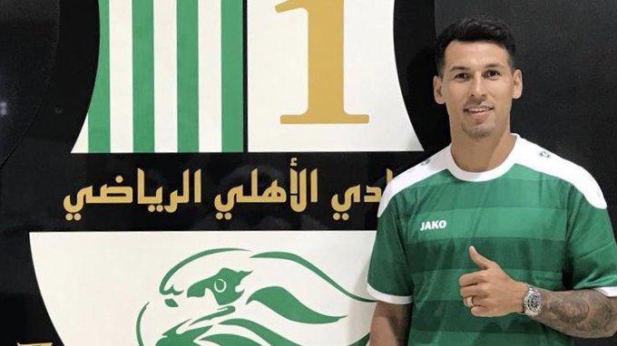 Hernán Pérez, nuevo jugador del Al Ahli SC - BeSoccer