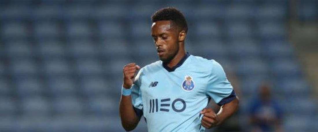 Hernani finit son contrat cet été à Porto. twitter/FCPorto