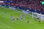 Herrera saved ATletico and got the draw. Captura/Movistar+