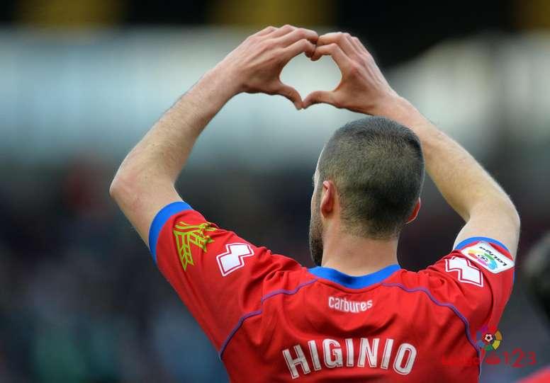 Higinio no podrá jugar frente a Las Palmas, como tampoco Iván Calero. LaLiga