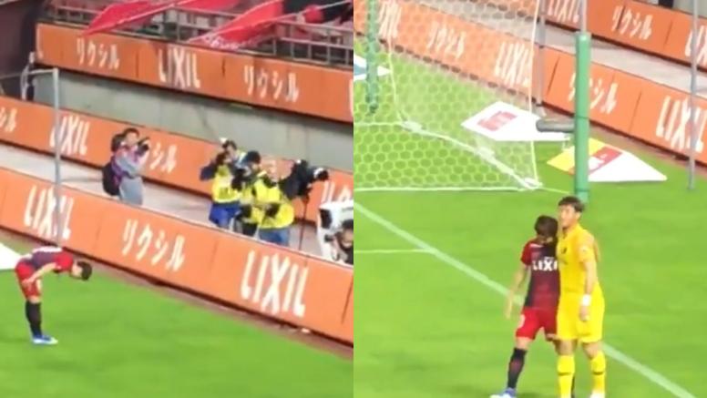 Hiroki Abe se despidió del Kashima Antlers rumbo al Barça. Captura/Neurophate_