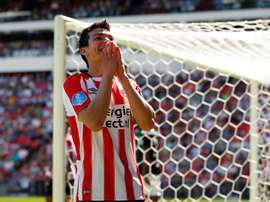 Hirving Lozano firmó dos tantos. PSV
