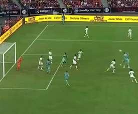 Se trata del cuarto y el quinto gol. Captura