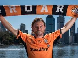 El jugador regresa al fútbol australiano. BrisbaneRoar