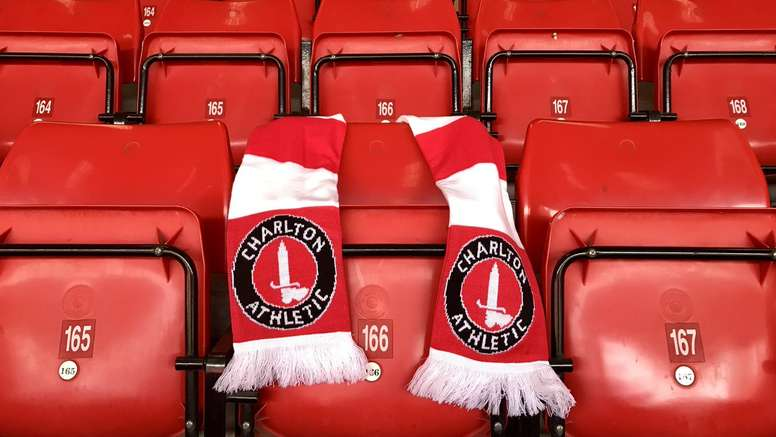 Charlton fans were protesting against their owner. CAFOfficial