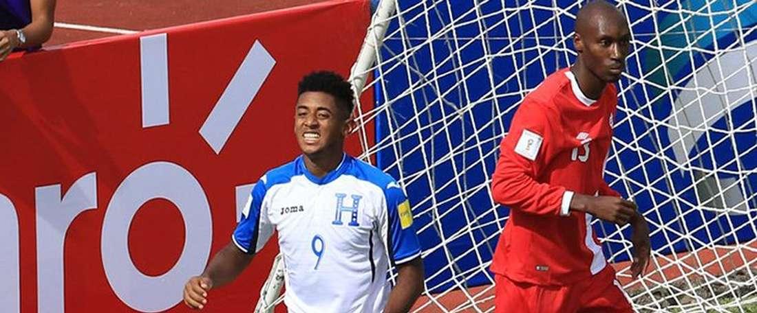 Honduras celebra el triunfo ante Canadá. CONCACAF