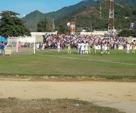 Honduras Progreso logró la victoria para salir del 'farolilo rojo'. Twitter/RealMinasCD1
