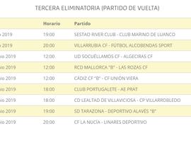 Horarios de los partidos de la última eliminatoria de los play 'off' de ascenso a Segunda B. RFEF
