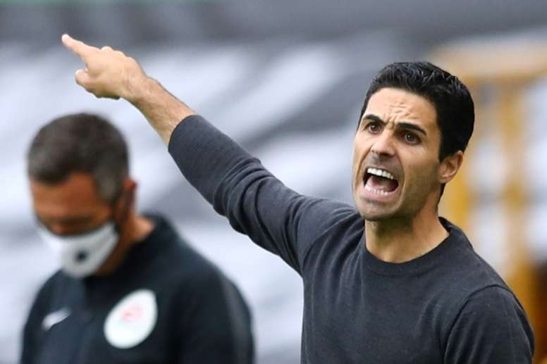 Arteta warned of consequences of leaks. AFP