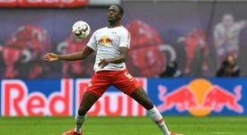 O Arsenal pensa em Konaté para a sua defesa. AFP