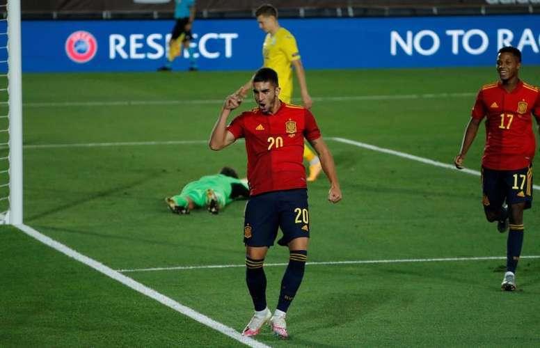 Ferran Torres et Fati sont les prochaines stars de l'Espagne. AFP