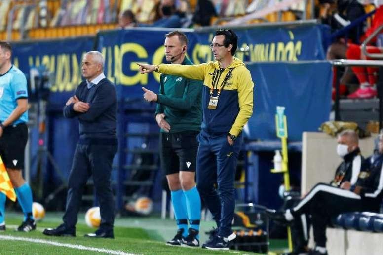 Pour Emery, Dembélé, Coutinho et Griezmann sont loin du top 5 mondial. EFE