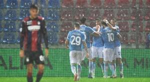 La Lazio oublie le cas Alberto en ramenant les 3 points. EFE